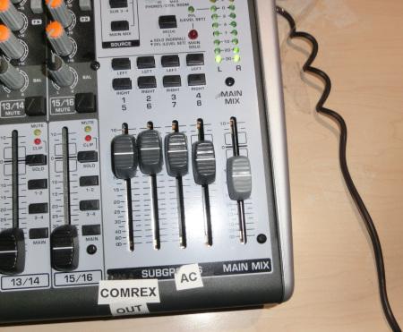 Figure 5 - Mixer Output Settings